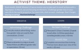 activist theme