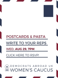 newsletter ad postcard party aug 2018- july 2018