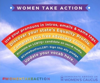 Women take action june 2018 w links