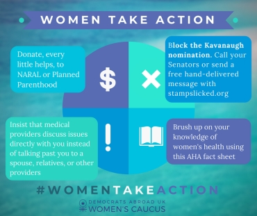 july women take action
